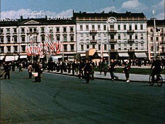 PKO przy placu Piłsudskiego w Warszawie (1939)