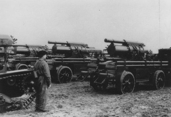 Ciężkie moździerze 220 mm wz. 32