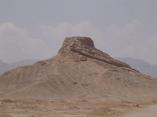 Wieża milczenia w Jazd (Iran)
