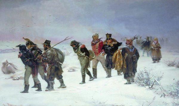 Po zaledwie 2 miesiącach od przekroczenia Niemna szalejąca czerwonka wyrywała z szeregów Wielkiej Armii blisko 4 tys. żołnierzy dziennie.