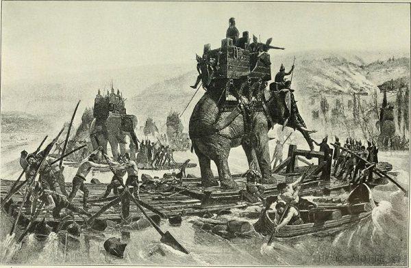 Hannibal w 190 roku p.n.e. posłużył się jadowitymi gadami, by sparaliżować flotę króla Pergamonu Eumenesa.