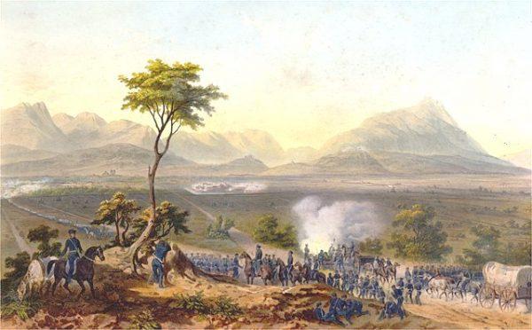 Pierwszym z konfliktów politycznych Ameryki Łacińskiej ze Stanami Zjednoczonymi była wojna amerykańsko-meksykańska, tocząca się od 25 kwietnia 1846 roku do 2 lutego 1848 roku.