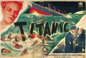 """Plakat do filmu """"Titanic"""" z 1943 roku."""