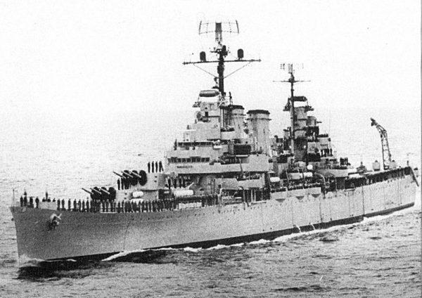 """""""General Belgrano"""" był już dość starą jednostką."""