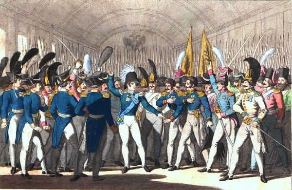 W 1825 roku carem został syn Pawła I – Mikołaj I. Człowiek ten rozbudował administrację w celu utrzymania poddaństwa wśród społeczeństwa.