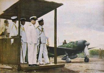 Admirał Yamamoto kilka godzin przed śmiercią.