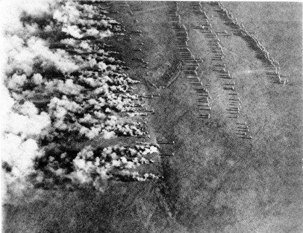 Niemiecki atak gazowy na froncie wschodnim