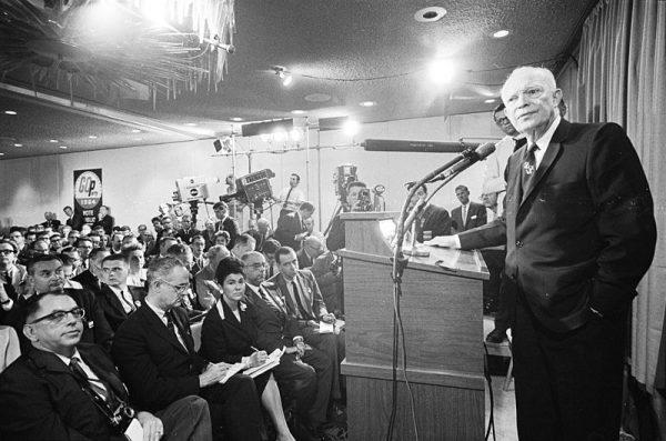 Prezydent Eisenhower nie zamierzał czekać na dalszy rozwój wypadków i podczas posiedzenia Rady Bezpieczeństwa Narodowego 18 sierpnia 1960 roku wydał rozkaz wyeliminowania kongijskiego polityka.