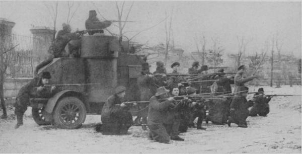 Oddział Armii Czerwonej podczas wojny domowej w Rosji