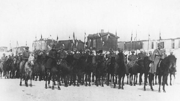 1 Szwadron Ułanów 5 Dywizji Strzelców Polskich w Nowonikołajewsku