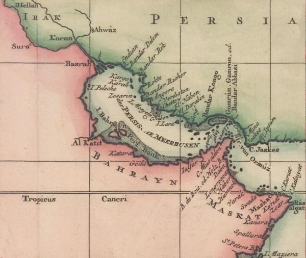 """Jeden z krajów jest szczególnie interesujący. Mowa o dzisiejszym Bahrajnie, którego nazwa wywodzi się z arabskiego słowa bahrani oznaczającego """"dwa morza""""."""