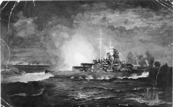 """Tylko jedna lufa o kalibrze 381 milimetrów mierzyła 17,5 metra długości, ważyła aż 122 tony i potrafiła wystrzelić pocisk ważący 800 kilogramów na odległość ponad 30 kilometrów. A """"Bismarck"""" takich luf miał osiem"""