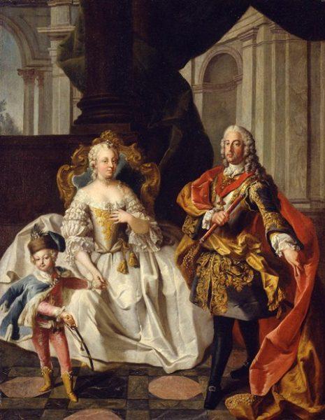 """Austriacka cesarzowa Maria Teresa i jej syn Józef II prowadzili powszechną wówczas wśród europejskich monarchów politykę """"oświecenia"""""""