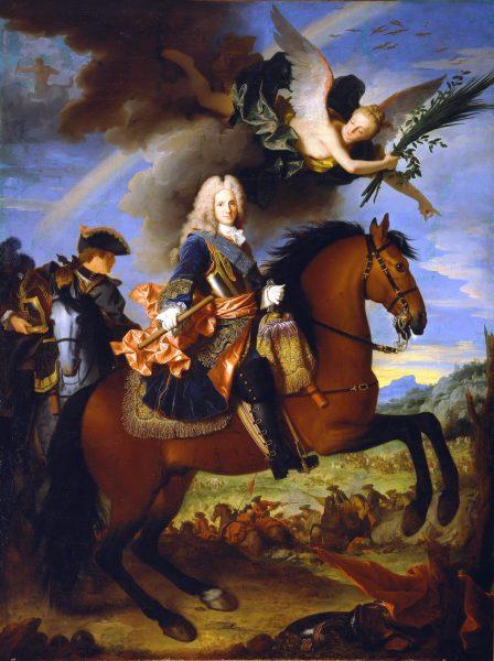 """Król Hiszpanii Filip V nie zamierzał jednak poprzestać na takim """"nowym ładzie""""."""