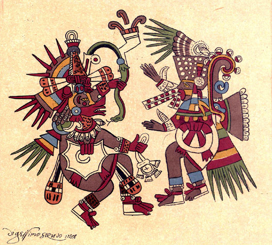 Cortésa uznawano za wcielenie boga Quetzalcoatla
