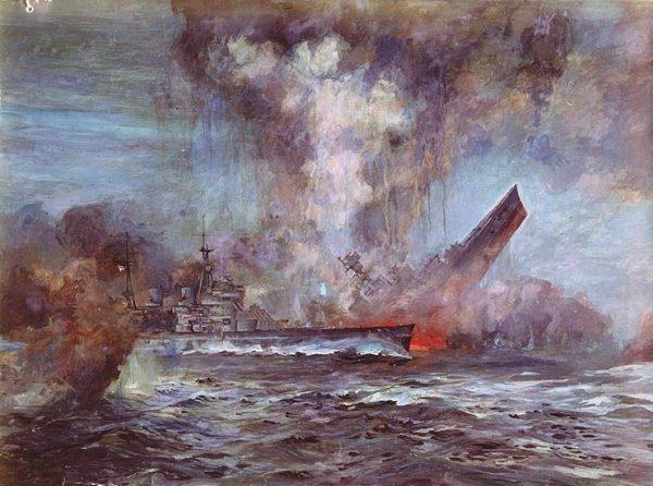 Największy okręt świata zatonął w ciągu trzech minut. Cała walka trwała zaledwie siedem minut.