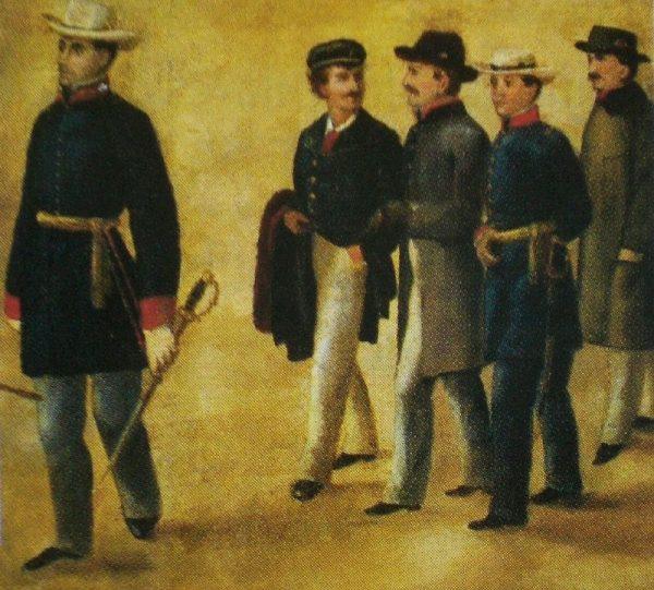 W końcu w 1809 roku trafił do Portugalii, gdzie dołączył do walczących w wojnie na Półwyspie Iberyjskim.