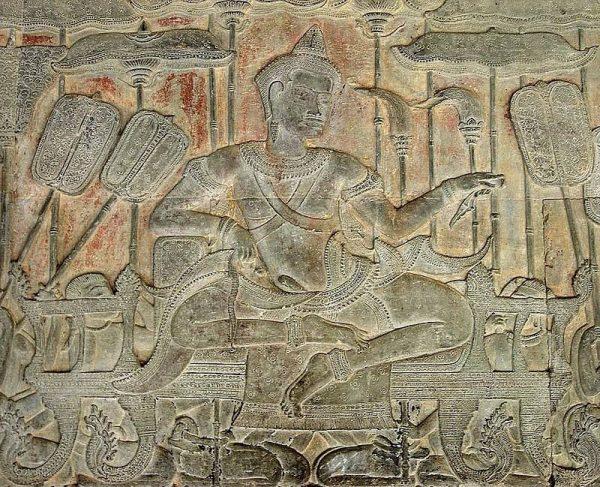 Surjawarman II zainicjował budowę Angkor Wat. Autor: Maharaja45, CC BY-SA 4.0