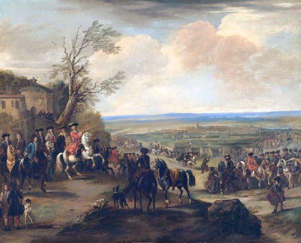 John Churchill ks. Marlborough, idąc od zwycięstwa do zwycięstwa, zaczął niebezpiecznie zbliżać się do francuskich granic.