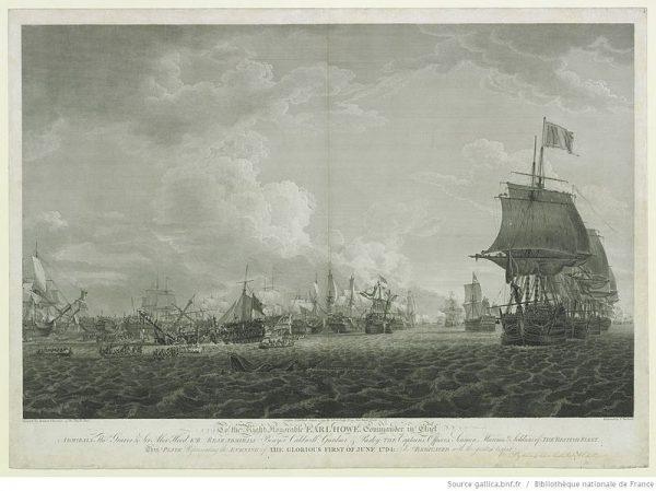 Chociaż angielscy marynarze robili co w ich mocy, to utrzymująca się sztormowa pogoda utrudniała im szybkie dopadnięcie Francuzów.