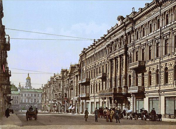 Kijów ok. 1900 roku