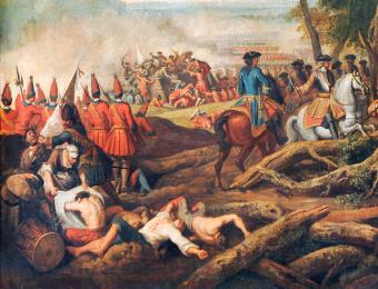 Pyrrusowe zwycięstwo koalicji antyfrancuskiej pod Malplaquet dawało mu szansę na wyjście z twarzą ze zmagań o sukcesję hiszpańską.