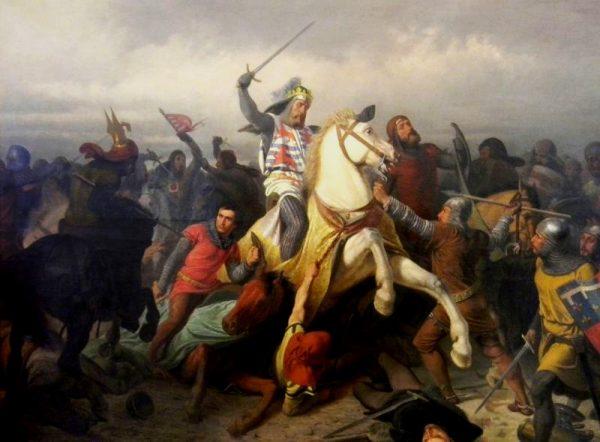 w 1342 roku, kwiat francuskiego rycerstwa w poniżający wręcz sposób został pokonany w bitwie pod Crécy.