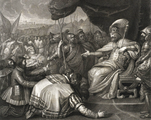Mieszko II dostał się do niewoli u księcia czeskiego Uldaryka, który kazał wykastrować więźnia.