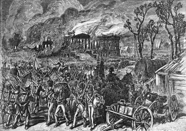W końcu pod naciskiem kadm. Cockburna około 12.30 gen. Ross zarządził generalny atak. Żołnierze w czerwonych mundurach sprawnym marszem ruszyli przez most i brody.