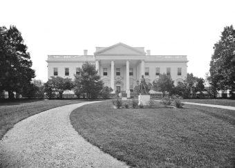 Biały Dom w latach 60. XIX wieku