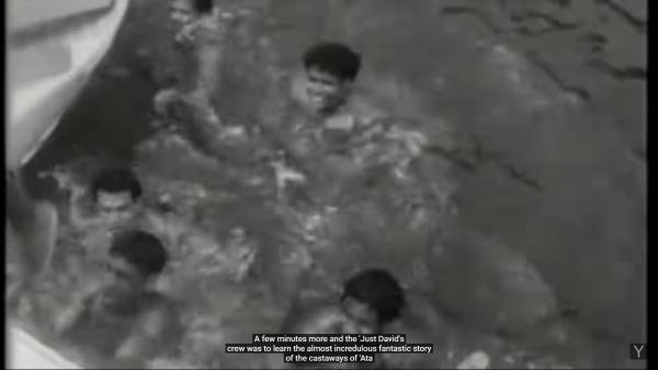 Chłopcy żyli na Ata 15 miesięcy, zanim na horyzoncie pojawiła się łódź Petera Warnera.