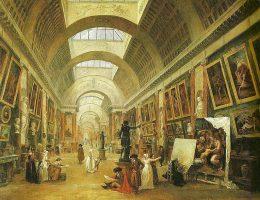 Wielka Galeria Luwru przeddzień Rewolucji Francuskiej