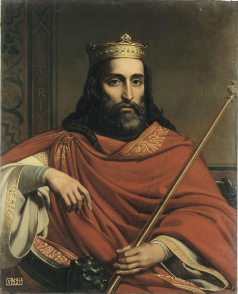 Chlotar I, syn najsłynniejszego spośród Merowingów, Chlodwiga, osobiście zamordował bratanków, by przejąć ich ziemie