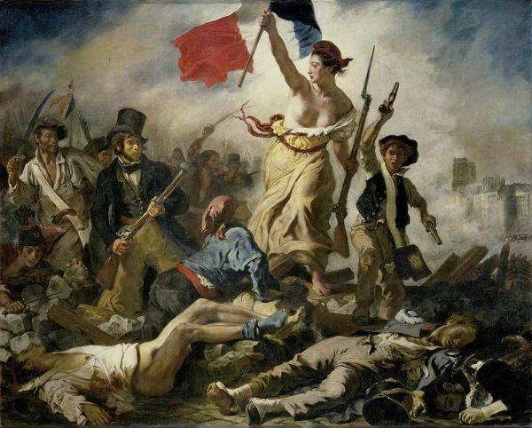 Wolność wiodąca lud na barykady to jedno z najważniejszych dzieł Eugène'a Delacroix. Symbolizuje francuską walkę o wolność i równość.