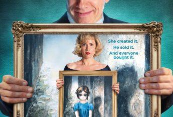 W 2014 roku odbyła się premiera fabularnego filmu biograficznego w reżyserii Tima Burtona pod tytułem Wielkie oczy, opowiadającego o życiu Margaret Keane (fragment plakatu)