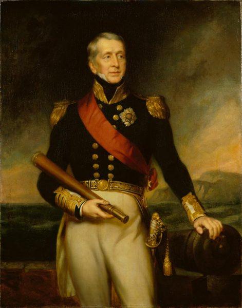 Dowodzący ekspedycją kadm. George Cockubrn rozkazał rzucić na pastwę ognia wszystkie… budynki rządowe w stolicy.