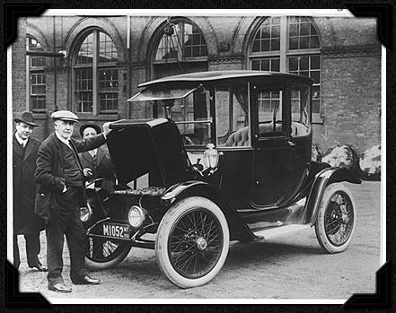 Samochód elektryczny Edisona z 1913 roku