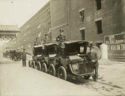Elektryczne taksówki w Nowym Jorku na przełomie XIX i XX wieku